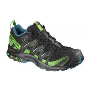 Běžecké boty Salomon XA PRO 3D Black/Deep Lagoo/Onlime