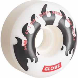 Skateboardová kolečka Globe G1 White/Black/Flames