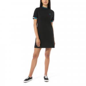Šaty Vans HI ROLLER TRI CHECK DRESS Black