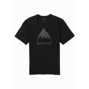 Tričko Burton CLASSIC MTN HGH SS TRUE BLACK