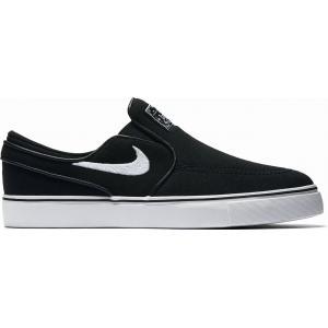 Boty Nike SB STEFAN JANOSKI CNVS SLIP (GS) black/white