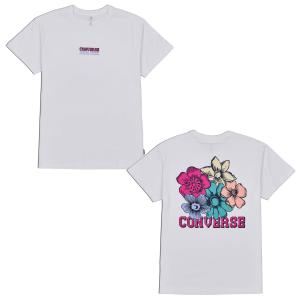 Tričko Converse FLOWER RELAXED TEE WHITE