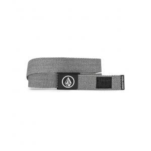 Pásek Volcom Circle Web Belt Heather Grey