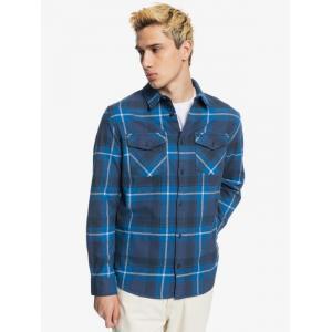 Košile Quiksilver DRAYMEN STRETCH BLUE INDIGO DRAYMEN