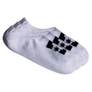 Ponožky DC SPP DC LINER 3P SNOW WHITE