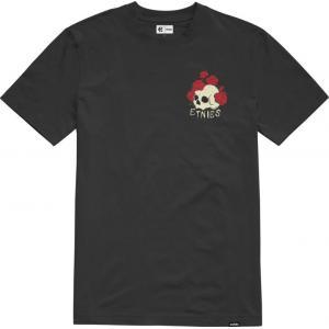 Tričko Etnies Rose Roll Tee BLACK