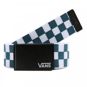 Pásek Vans DEPPSTER II WEB BELT BLUE CORAL/CHECKERBOARD