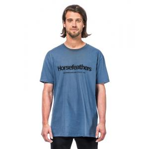 Tričko Horsefeathers QUARTER T-SHIRT moonlight blue