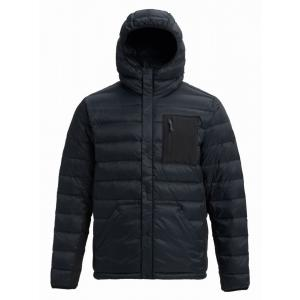 Zimní bunda Burton EVERGREEN DOWN HOODED INS TRUE BLACK