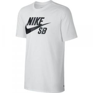Tričko Nike SB SB logo t-shirt white/black