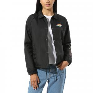 Bunda Vans THANKS COACH DOME JACKET Black