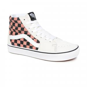Boty Vans ComfyCush SK8-Hi (MIXED MEDIA) WHITE/MULTI
