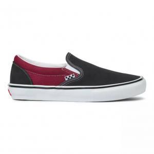Boty Vans Skate Slip-On ASPHALT/POMEGRANATE