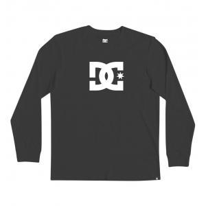 Tričko DC STAR LS 2 BLACK/WHITE