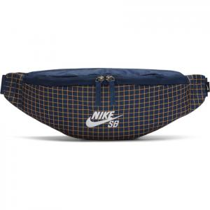 Ledvinka Nike SB HERITAGE HIP PACK MIDNIGHT NAVY/MIDNIGHT NAVY/WHITE