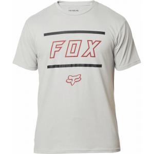 Tričko Fox Midway Ss Airline Tee Grey/Red