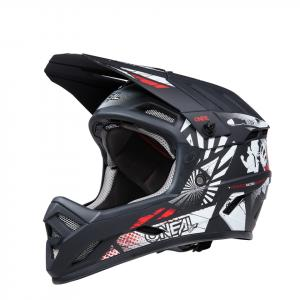 Cyklistická helma Oneal Backflip BOOM Black/White