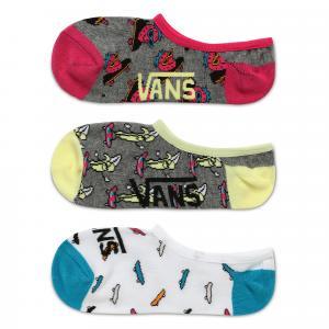 Ponožky Vans SKATE FRUIT CANOODLE 3 PACK Multi