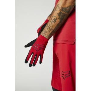 Cyklistické rukavice Fox Flexair Glove Chilli
