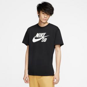 Tričko Nike SB TEE LOGO black/white