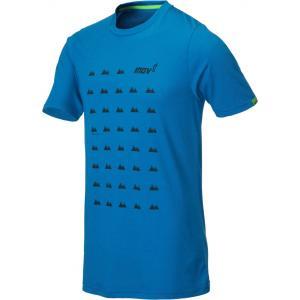 Tričko Inov-8 TRI BLEND SS grid blue
