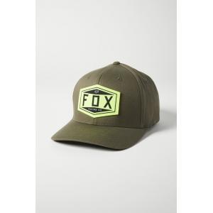 Kšiltovka Fox Emblem Flexfit Hat Olive Green