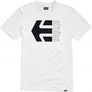 Tričko Etnies Corp Combo Tee WHITE/BLACK