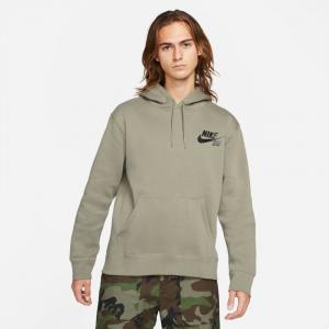 Mikina Nike SB ICON HOODIE PO light army/black