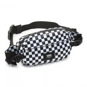 Ledvinka Vans ALISO II HIP PACK Black/White Check