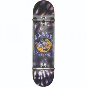 Skateboardový komplet Globe G1 Ablaze Black Dye
