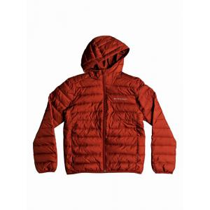 Zimní bunda Quiksilver SCALY YOUTH BARN RED