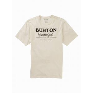 Tričko Burton DURABLE GOODS SS STOUT WHITE