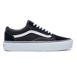 Boty Vans OLD SKOOL PLATFORM Black/White