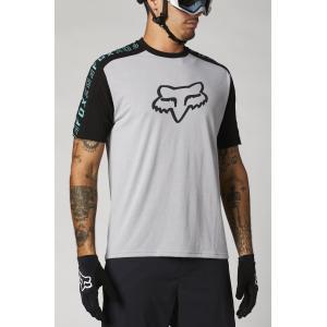 Pánský cyklodres Fox Ranger Dr Ss Jersey Steel Grey