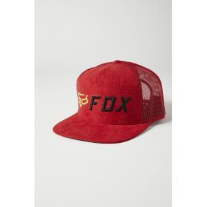 Kšiltovka Fox Apex Snapback Hat Red/Black