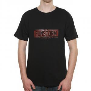 Tričko Funstorm Evelt black