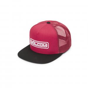 Čepice Volcom Wilmer Cheese Hat Ribbon Red
