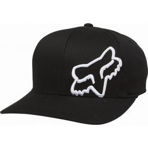 Kšiltovka Fox Youth Flex 45 Flexfit Hat Black/White