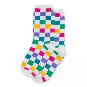 Ponožky Vans TICKER SOCK CHECKER BLOCK