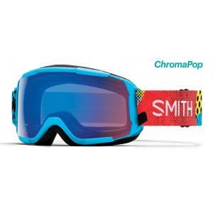 Lyžařské brýle Smith GROM Cyan Burnside ChromaPop Storm Rose Flash