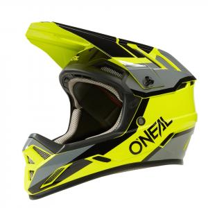 Cyklistická helma Oneal Backflip STRIKE Black/Neon Yellow