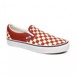 Boty Vans Classic Slip-On CHECKERBOARD PICANTE/TRUE WHITE
