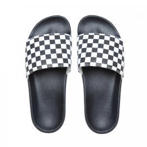 Pantofle Vans Slide-On CHECKERBOARD WHITE