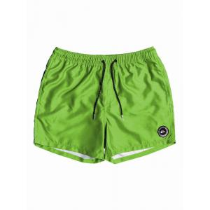 Koupací šortky Quiksilver EVERYDAY VOLLEY YOUTH 13  GREEN GECKO
