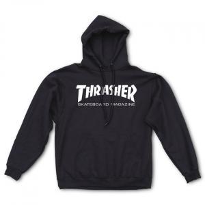Mikina Thrasher Skate Mag Hoody Black