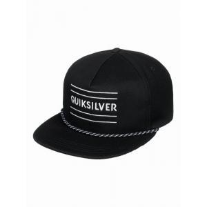 Kšiltovka Quiksilver FOLD SNAPPER   BLACK