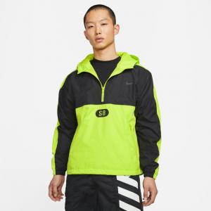 Bunda Nike SB MARCH RADNESS ANORAK black/cyber/black/anthracite