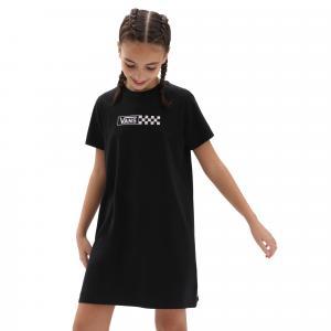 Šaty Vans GIRL FUN DAY DRESS BLACK/ORCHID ICE