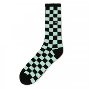 Ponožky Vans CHECKERBOARD CREW II BLACK/BAY