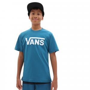 Tričko Vans CLASSIC BOYS MOROCCAN BLUE/WHITE